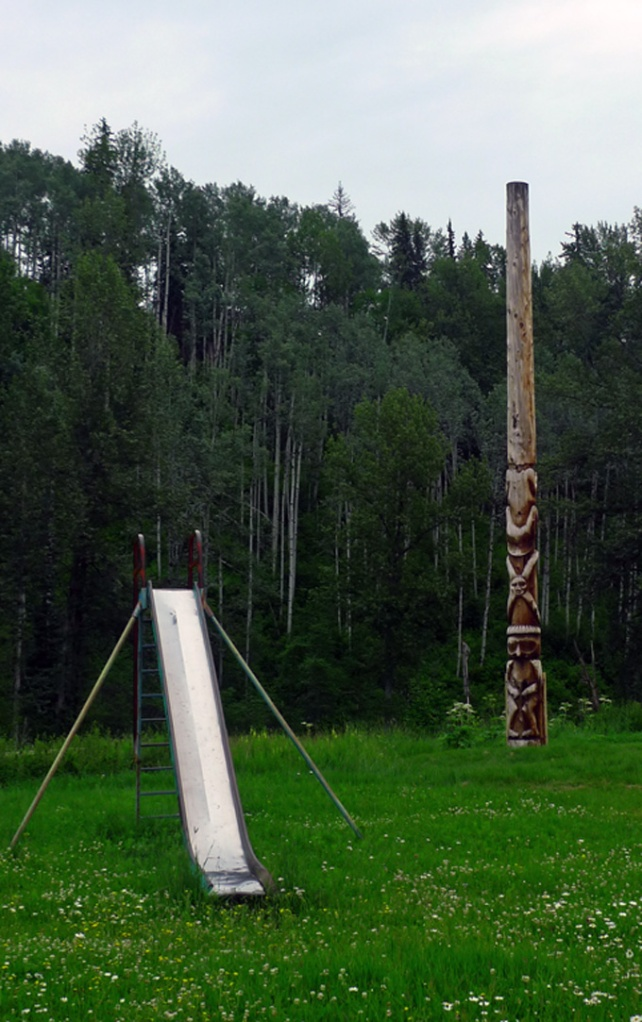 totem and slide rural