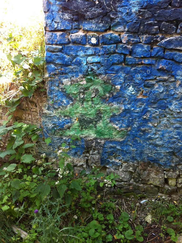 Annie_green_man_grafitti